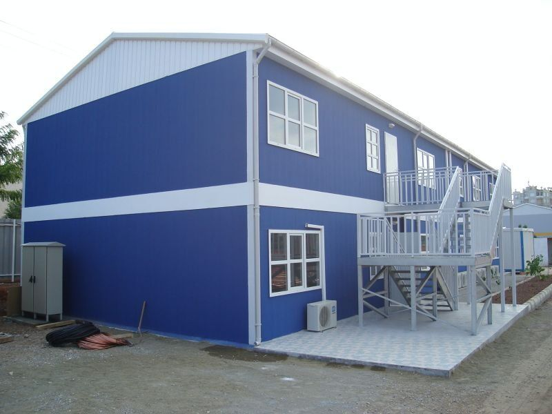 Prefabricated Construction Services For Buildings And Houses In Dubai Uae We Have Been Actively Engaged In Ren Construction Services House Outdoor Decor