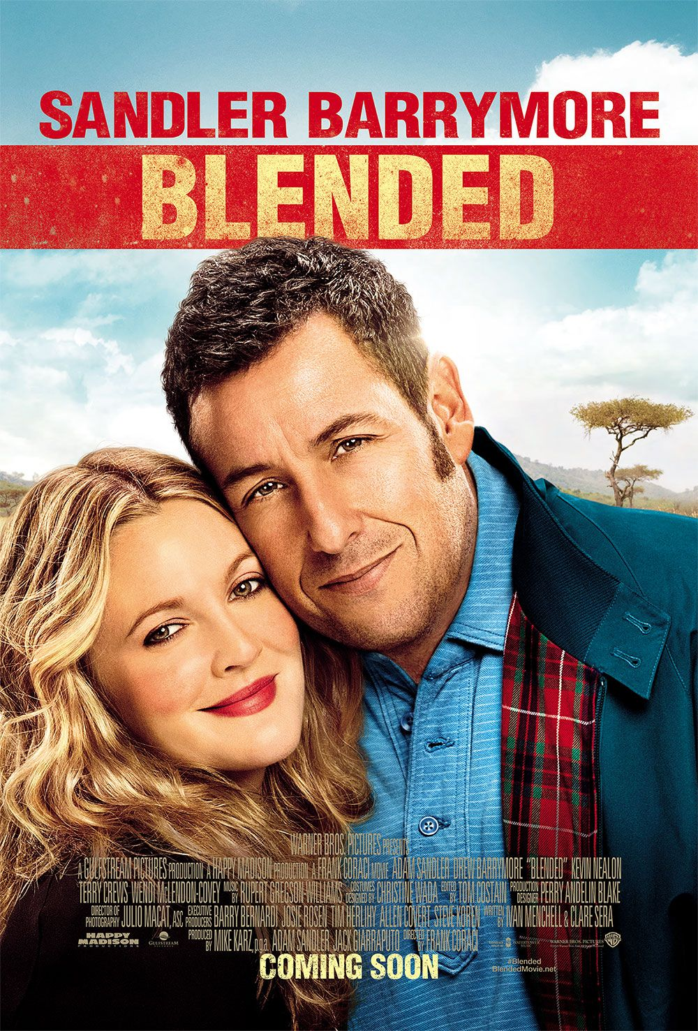 Adam Sandler and Drew Barrymore star as single parents
