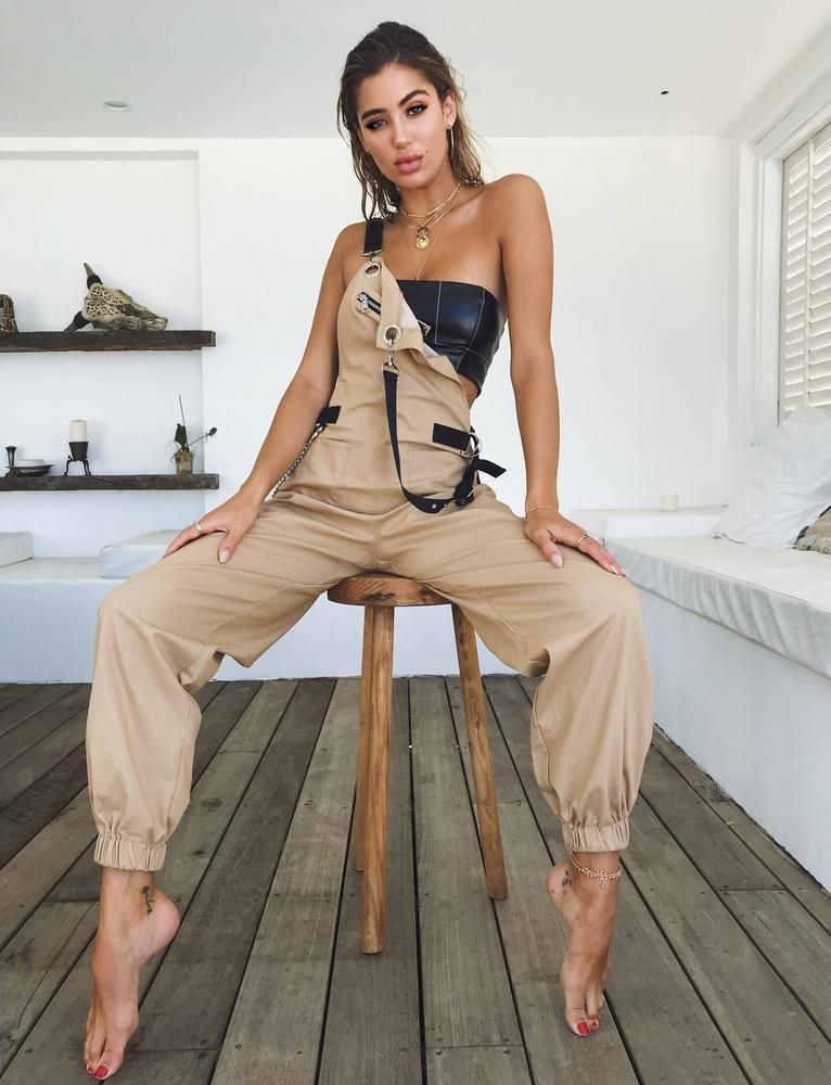 5a41c4266eb6 Buy Our Phillipa Jumpsuit in Tan Online Today! Cobain Overalls - Tan tiger  mist  138