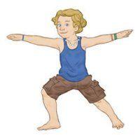 calm down yoga routine for kids printable  yoga for kids