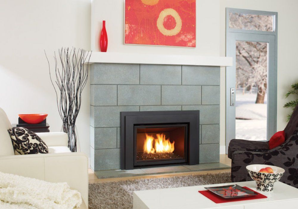 Modern Fireplace Tile Surrounds Fireplace Pinterest