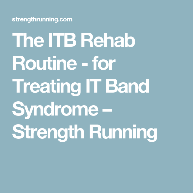 ITB REHAB ROUTINE DOWNLOAD