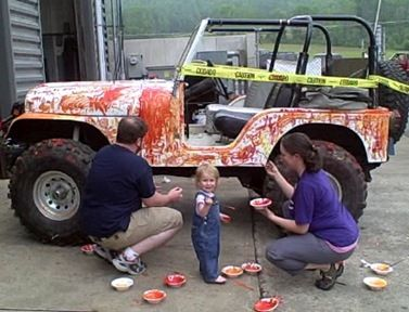 Best Custom Paint Job I Can Think Of Custom Jeep Projects