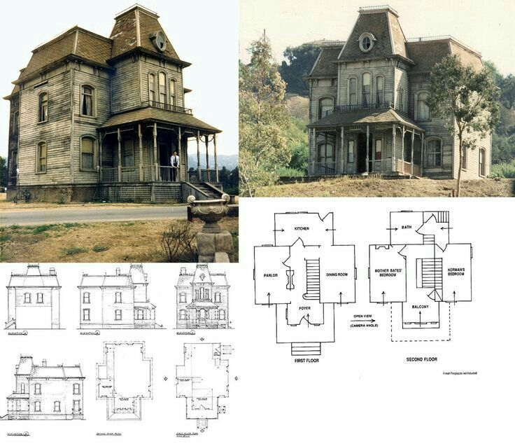 Bates House Floorplan Victorian House Plans Vintage House Plans Facade House