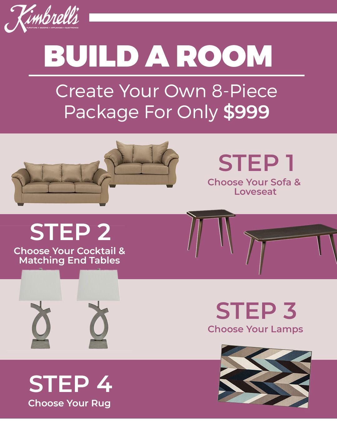 Best Completely Tailor Your Living Room Package To Your Style 400 x 300