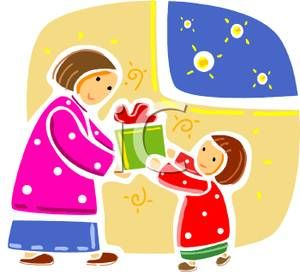 Christmas Giving Clipart.Giving A Christmas Present Clipart Google Search