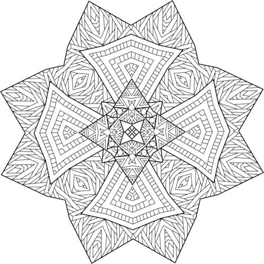 Northern Guide Coloring Page Mandala Coloring Pages Mandala Coloring Coloring Pages