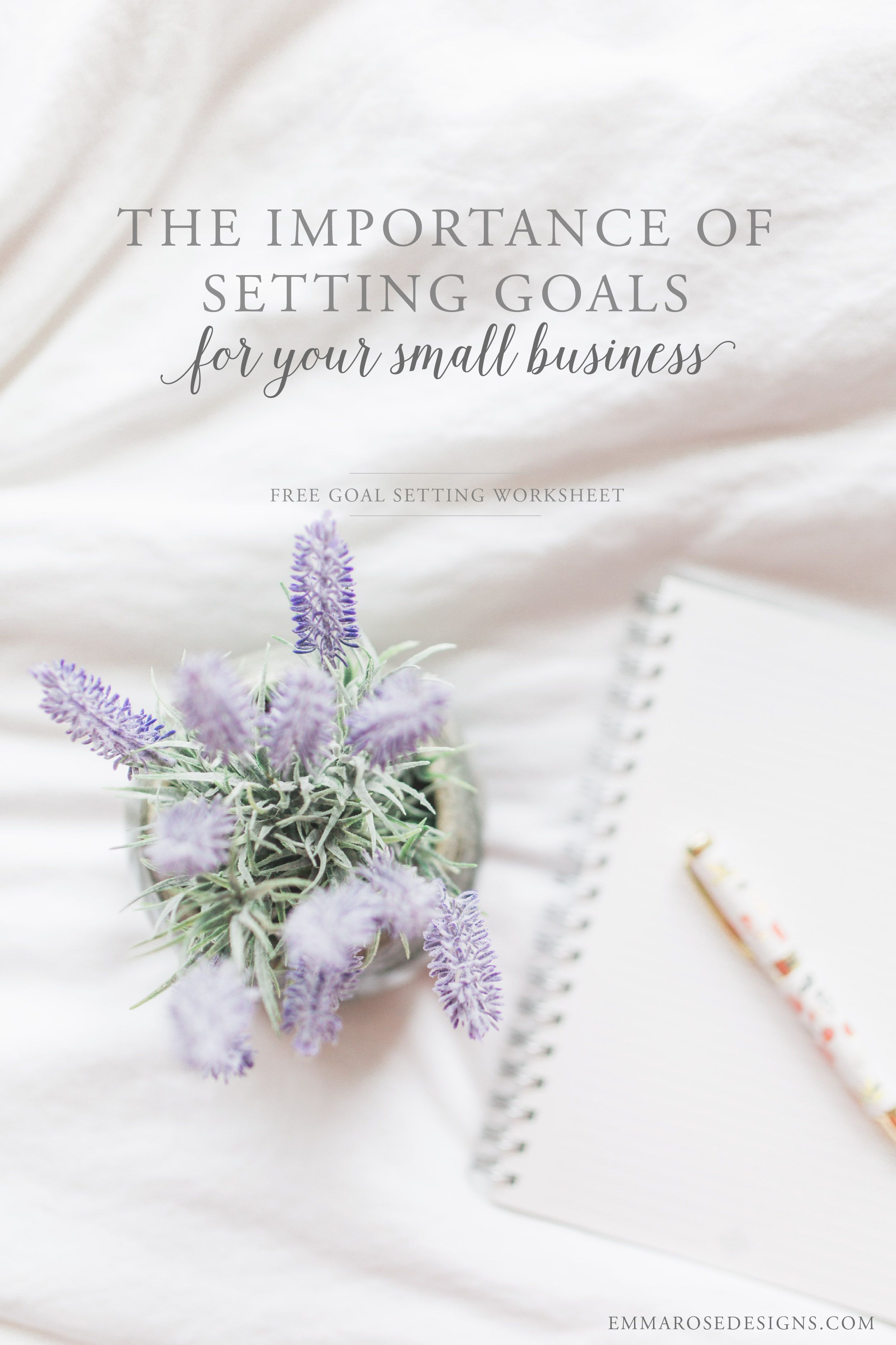 The Importance Of Setting Goals For Your Small Business