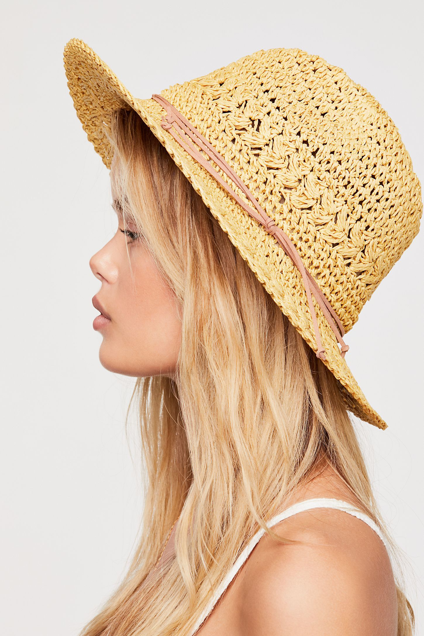 78ac12af2 Summerland Crochet Straw Sun Hat in 2019   who: style   Sun hats ...