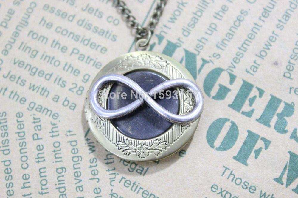 Infinity Symbol Dinnerware Infinity Locket Necklace Infinity