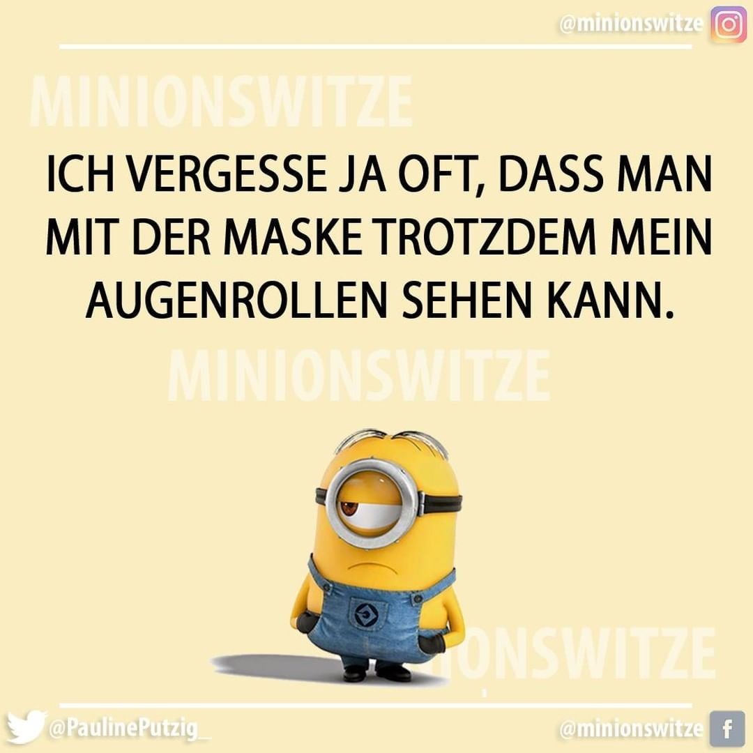 Gefallt 642 Mal 11 Kommentare Minionswitze Und Spruche Minionswitze Auf Instagram Spruchbild Spruchdestages Lach Minions Humor Funny