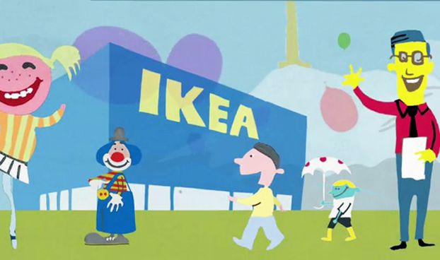 IKEA promoted the fact that it was moving its store in Bergen, Norway by engaging local volunteers to help with the new store opening, in a campaign via SMFB.