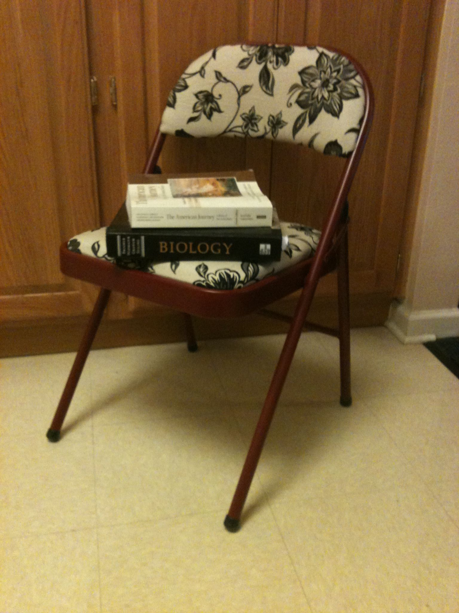 DIY Folding Chairs For College