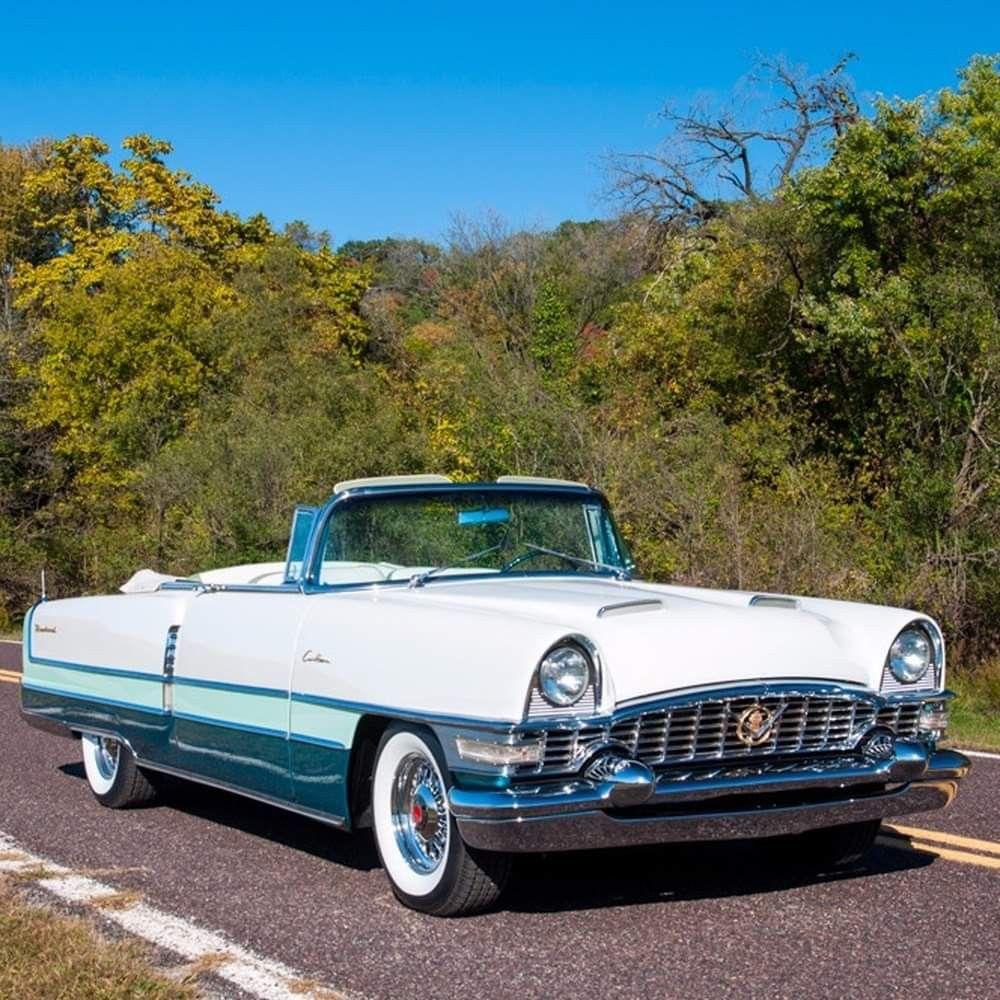 DROP TOP FRIDAY: 1955 Packard Caribbean Convertible
