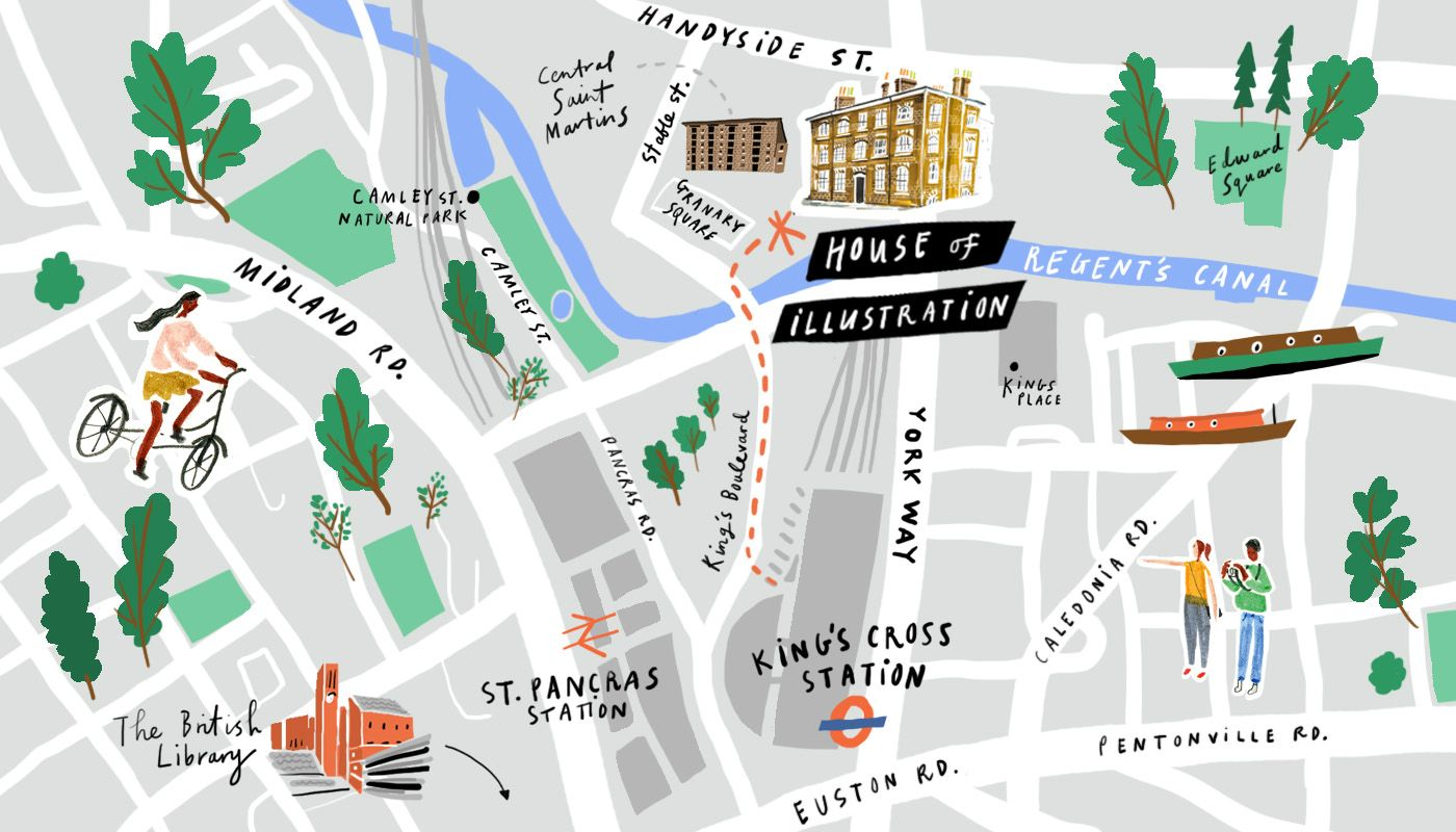 Nina Cosford - London map