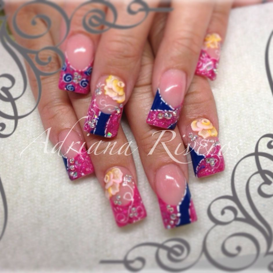 3d nail salon acrylic nails pinterest nail salons for 3d nail art salon