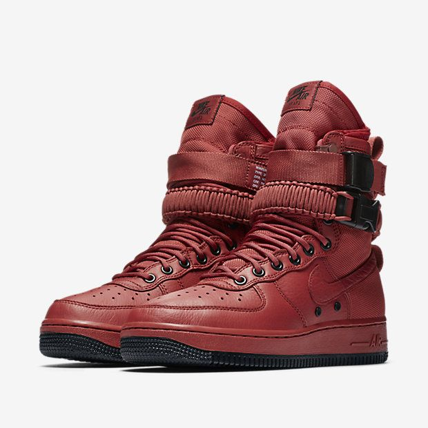 9bbdf8d21cb Nike SF Air Force 1 High Oxy Blood