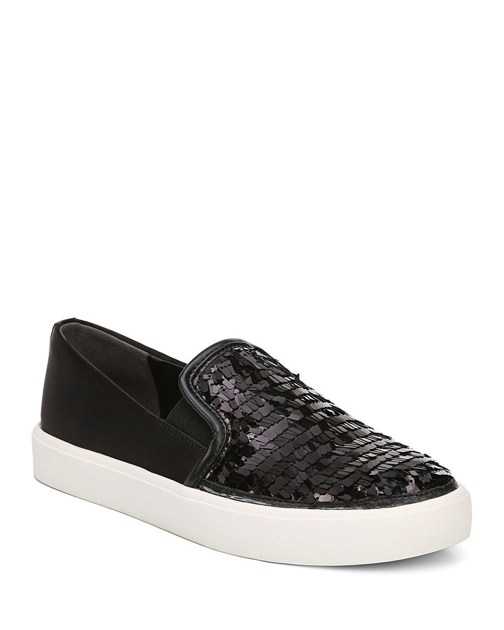 dfd058c51c30 SAM EDELMAN Sam Edelman Women s Elton Sequined Satin Slip-On Sneakers.   samedelman  shoes