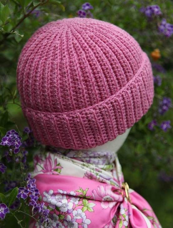 Free Knitting Pattern Reversible Hat : Reversible Crochet Brioche Hat Free Pattern with video ...