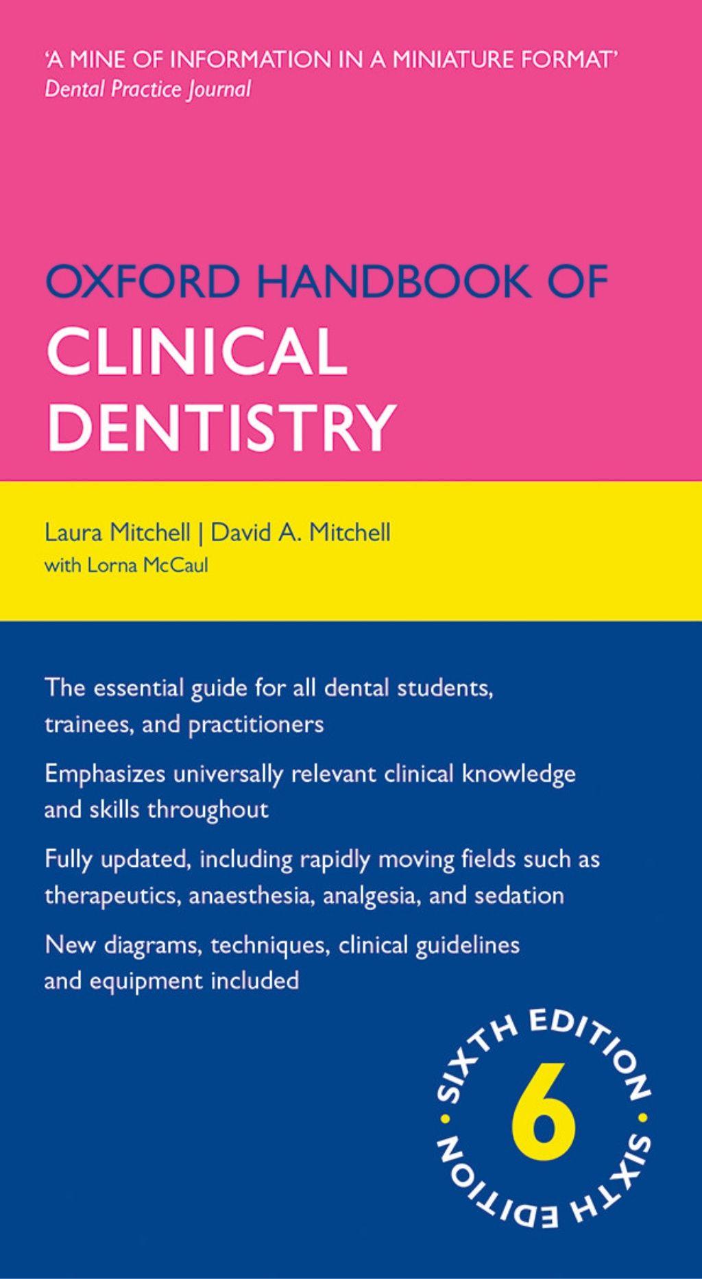 Oxford Handbook Of Clinical Dentistry 6 E 2014 Dentistry Student Dentistry Dental Student