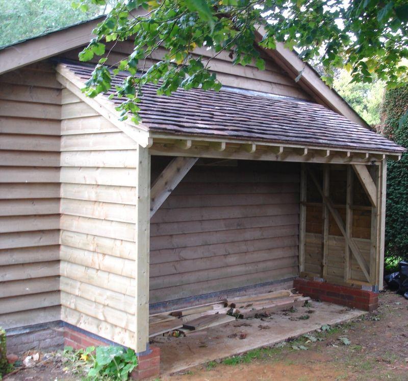 Log store 2 casa de madera 2 pinterest le era le a for Casetas para guardar lena
