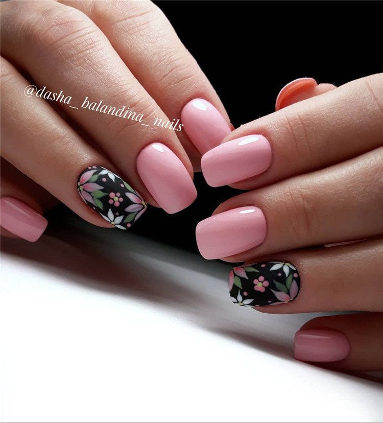 60 Spring Nail Ideas For Exceptional Look 2020 With Images