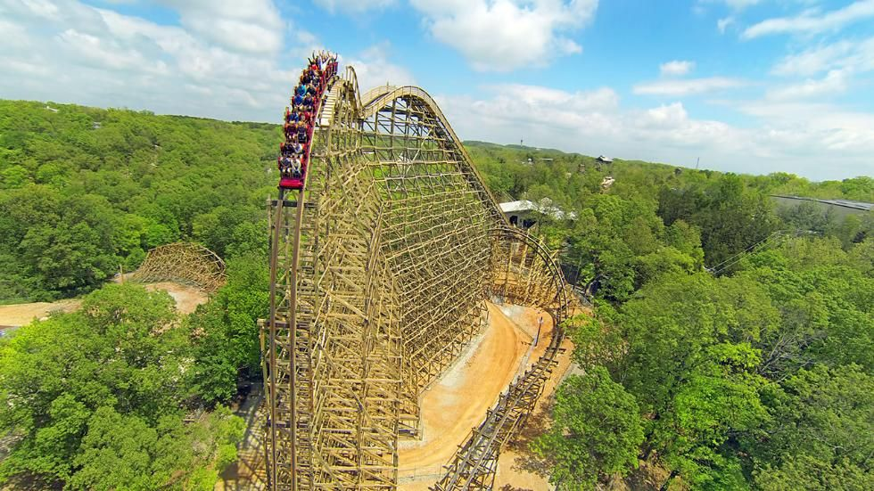 Record Breaking Attractions In Every State Photos Silver Dollar City Best Amusement Parks New Roller Coaster