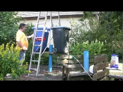Brunnenbohren Von Hand Mit Kiespumpe Youtube Gartentechnik