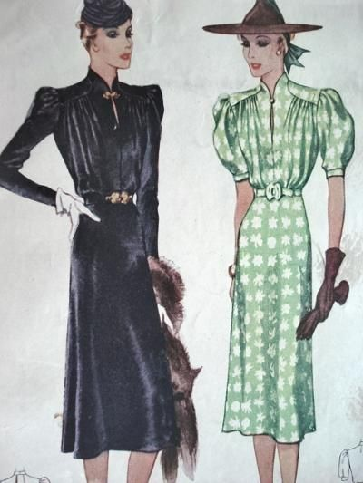 McCall 3056 | 1930s McCall Patterns | Pinterest