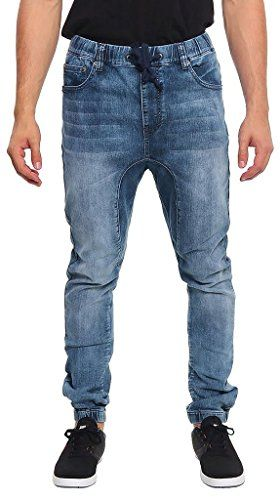 ac95f29d Victorious Men's Jogger Denim Pants JG803 - DARK INDIGO (3X-Large ...