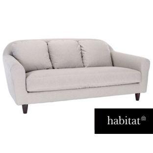 Superb Habitat Emlyn Black And White 3 Seat Sofa From Homebase.co.uk Amazing Ideas
