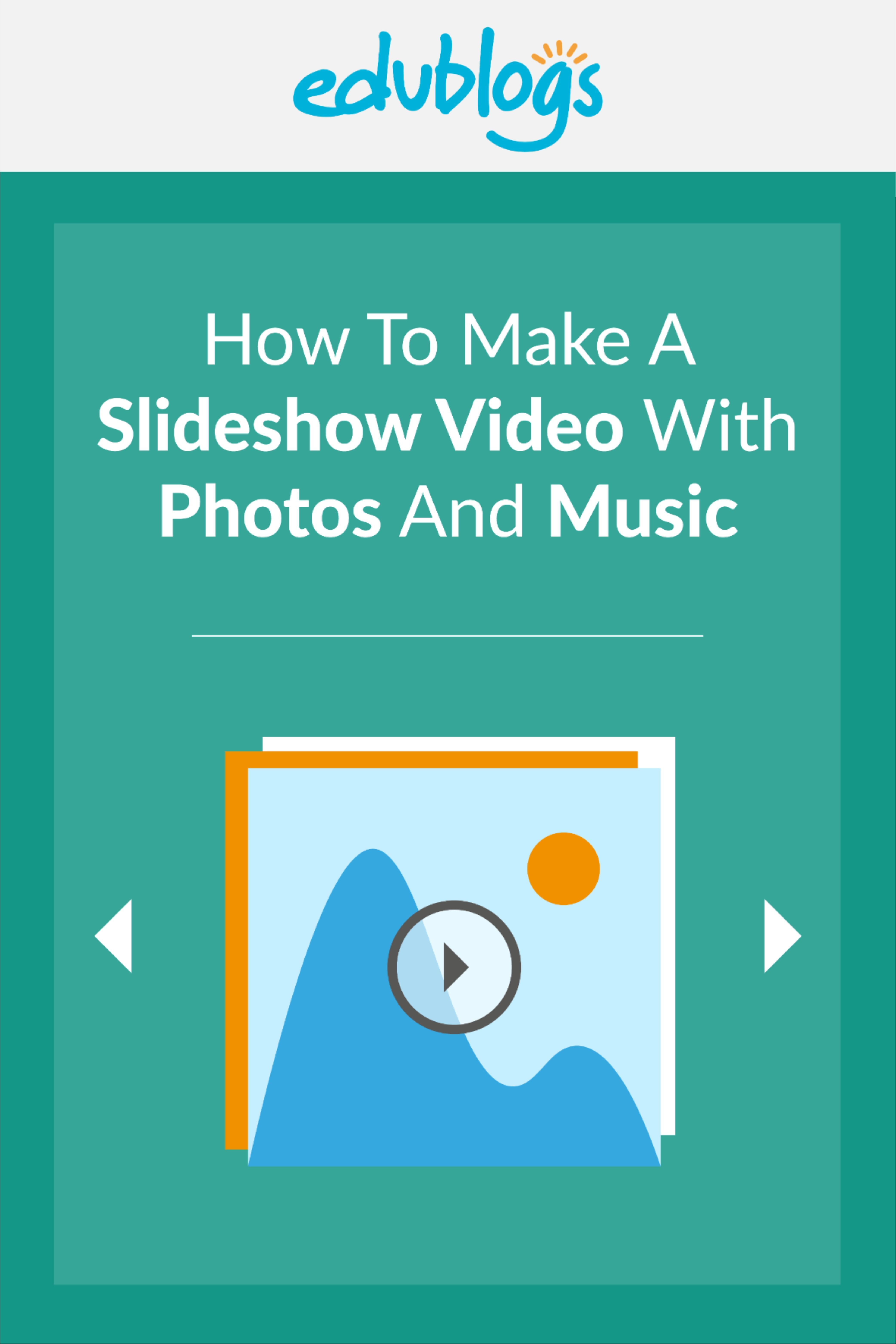 How To Make A Slideshow Video With Photos And Music In 2020 Music Video Photo