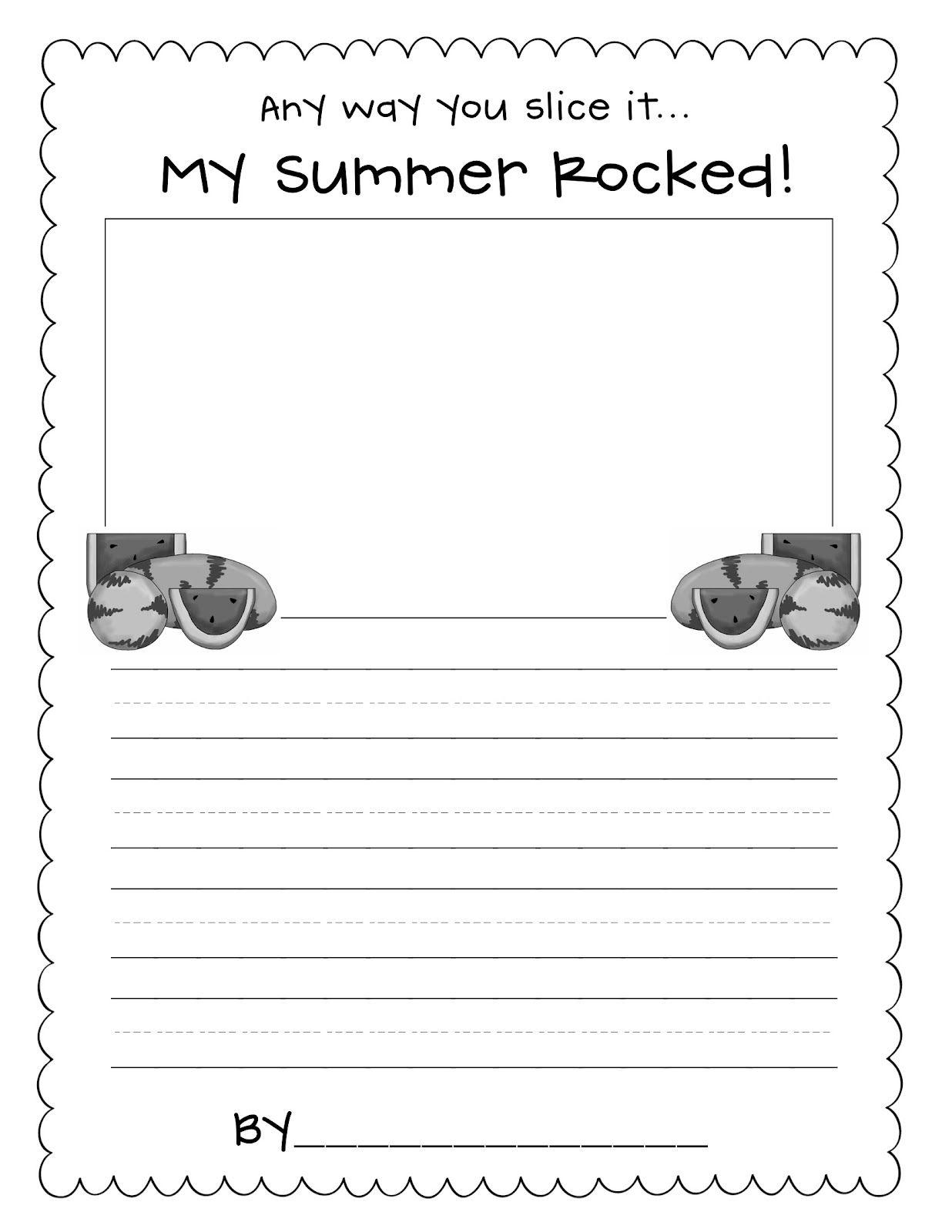 Back To School Write