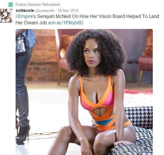 Empires Serayah McNeill On How Her Vision Board Helped To Land Her Dream Job. #empire #serayah #believe #love #visionboard #lawofattraction #visualization #mantra .............................................................. Listen to us on soundcloud and apple podcast now. Follow link in bio >> tagmeinpodcast.co.uk #tagmeinpodcast #tmi #podcast #blackpodcast #blackpodcaster #blackpodcasters #podcastlife #podcaster #blackexcellence #melanin #blackbritish #britishpodcast