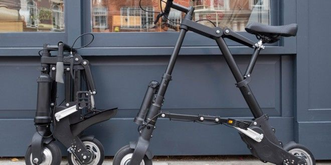 A-Bike – lightest and most compact Electric Folding Bike