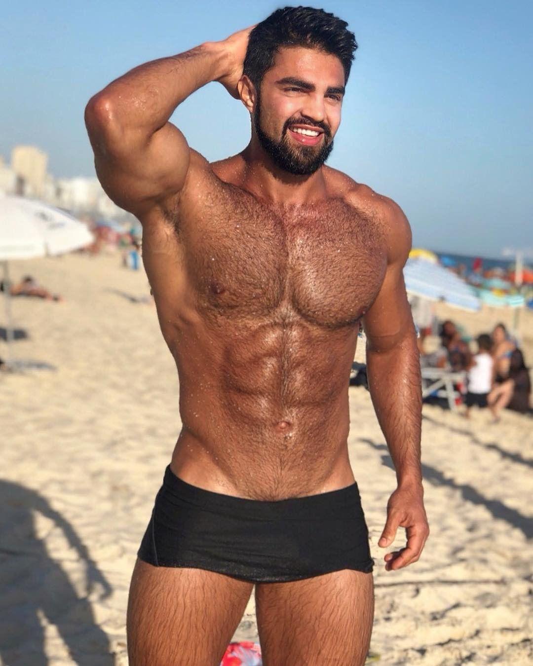 Maurício Souza Filho Hot Hunks, Hunks Men, Bearded Men, Hairy Men, Hairy