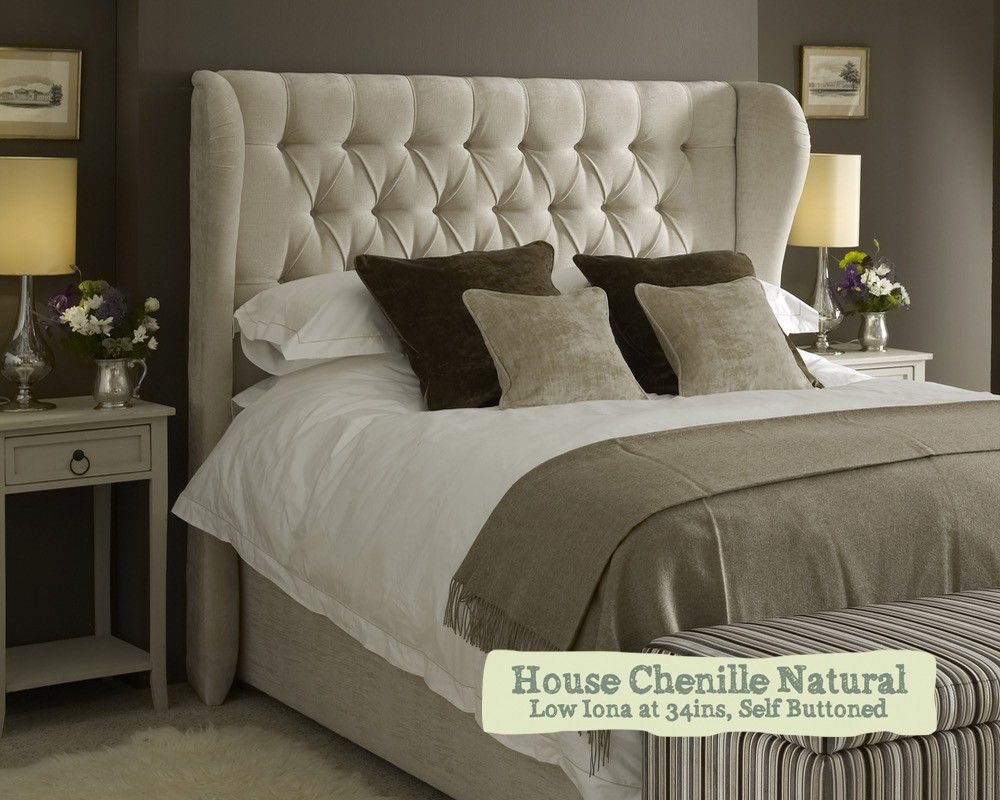 Superking Winged Iona Headboard Quality For Just 698