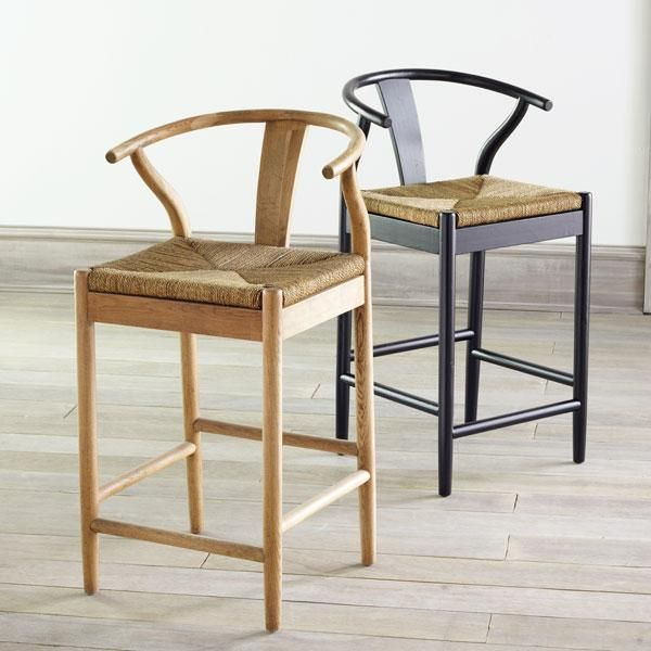 Wisteria Stools Amazing Wishbone Counter Stool  Kitchen Bar Stools With Backs  Kitchen . Decorating Design