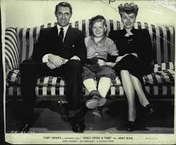 Janet Blair, Cary Grant and Ted Donaldson in Once Upon a Time 1944
