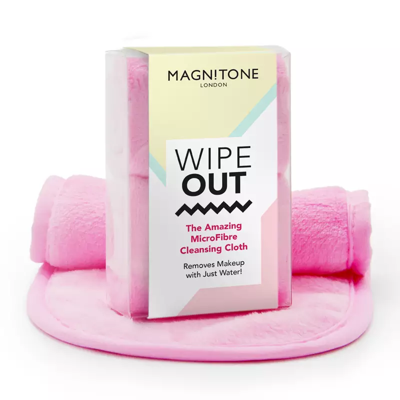 Magnitone London WipeOut! The Amazing MicroFibre Cleansing