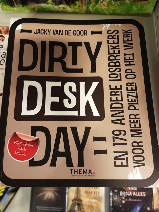 nice 3469: DIRTY DESK DAY