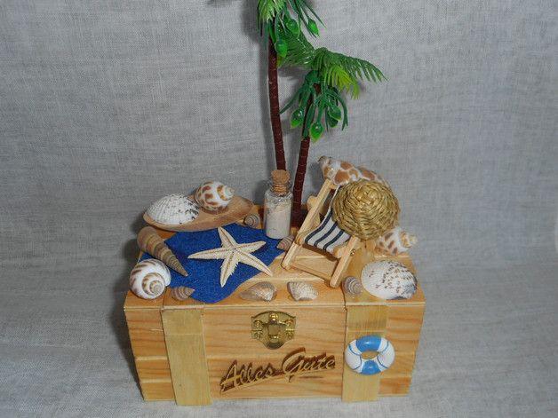 gastgeschenke geschenkbox geldgeschenk urlaub reisen strand ein designerst ck von. Black Bedroom Furniture Sets. Home Design Ideas