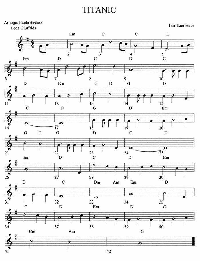 For Cara Bladmuziek Clarinet Sheet Music Flute Sheet Music