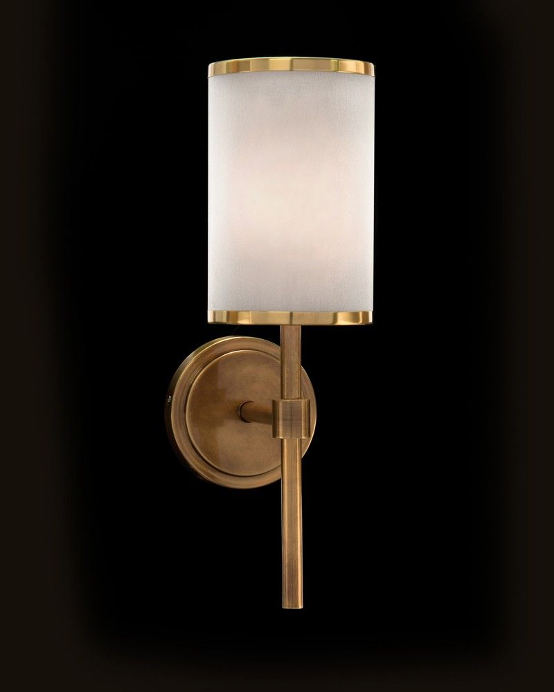 Brass banded one light wall sconce fixed lighting lighting our brass banded one light wall sconce fixed lighting lighting our products mozeypictures Images