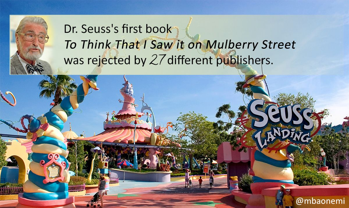 Interestingfact Dr Seuss S First Book To Think That I Saw It On Mulberry Stre Island Of Adventure Orlando Islands Of Adventure Universal Islands Of Adventure