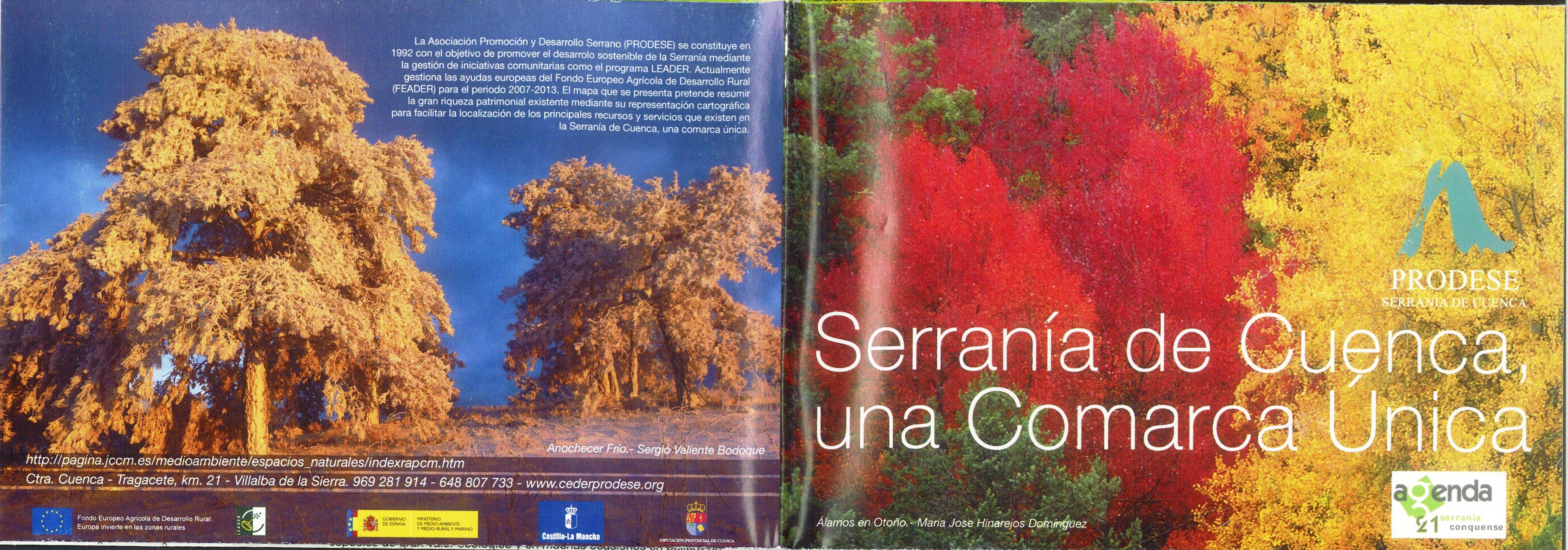 Folleto turístico de la Serranía de Cuenca editada por PRODESE Serranía de Cuenca, 2011. #Cuenca #SerraniadeCuenca#Turismo #PRODESESerraniadeCuenca