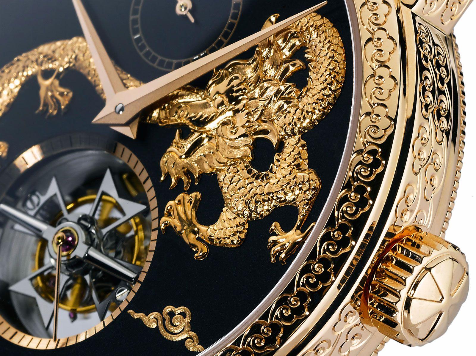 "Vacheron Constantin Introduces the Ornate Traditionnelle 14-Day Tourbillon ""Dragon"""