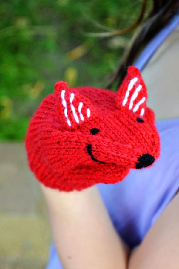 Fuchs-Handpuppe stricken | Quatsch, Fuchs und Abenteuer