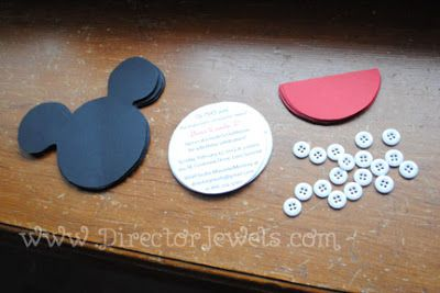 Mickey Mouse Clubhouse Party Ideas Homemade Director Jewels