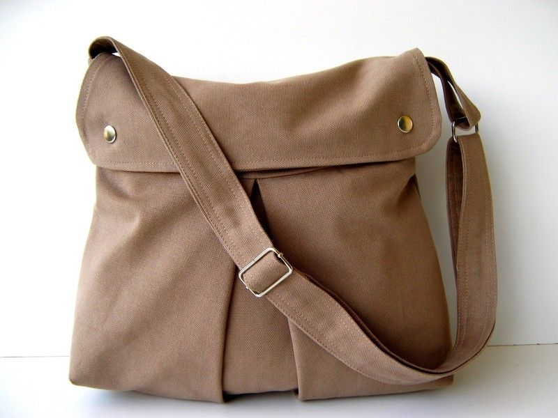 "Modular Messenger "" light brown "" - Kamel -"